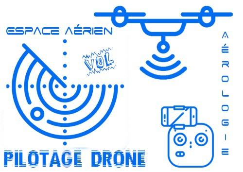 Initiation à l'utilisation d'un drone à titre professionnel