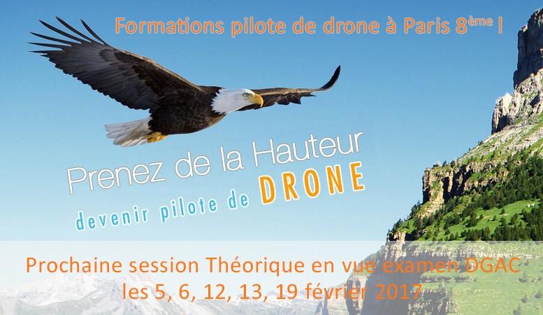 Prenez de la hauteur, devenir pilote de drone