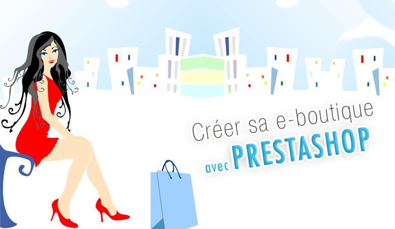 Créer sa boutique avec Prestashop